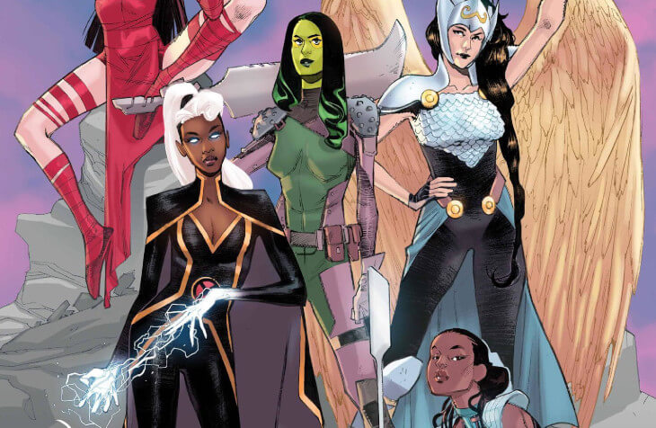 Women of Marvel #1 Cover by Sara Pichelli. Marvel Comics April 21, 2021
