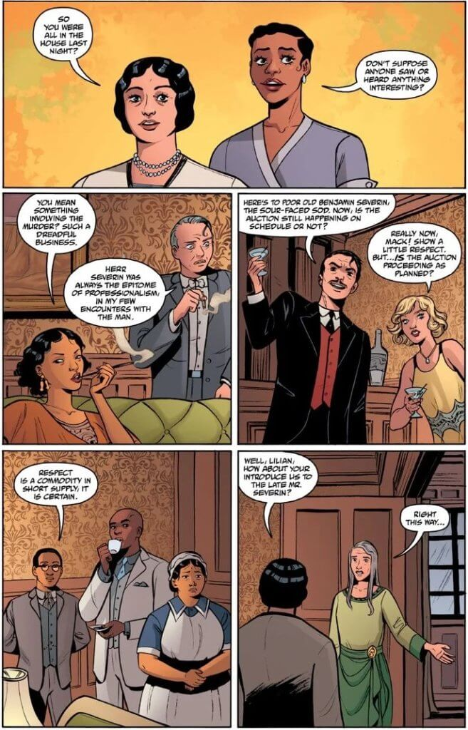 Panels from The House of Lost Horizons #1 (Dark Horse Comics, May 2021)