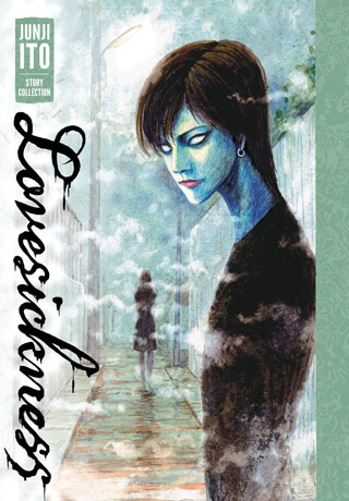 Cover of Lovesickness by Junji Ito depicting The Boy In Black