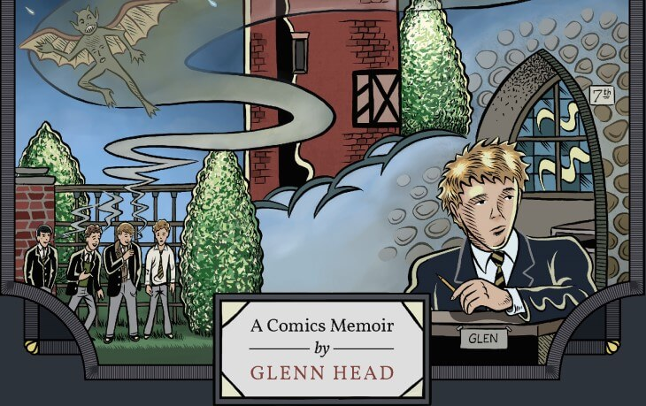 Cover of Chartwell Manor by Glenn Head (Fantagraphics, May 2021)