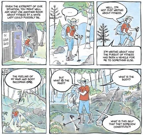 P 23 from The Secret to Superhuman Strength by Alison Bechdel, Houghton Mifflin Harcourt