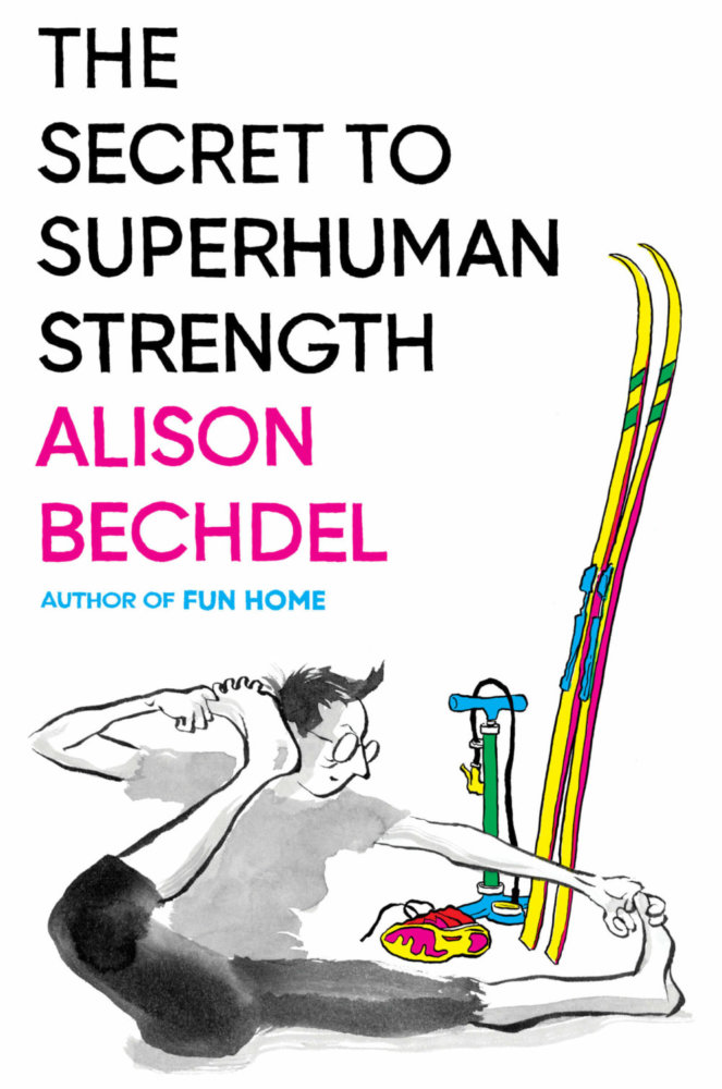 The Secret to Superhuman Strength cover by Alison Bechel from Houghton Mifflin Harcourt