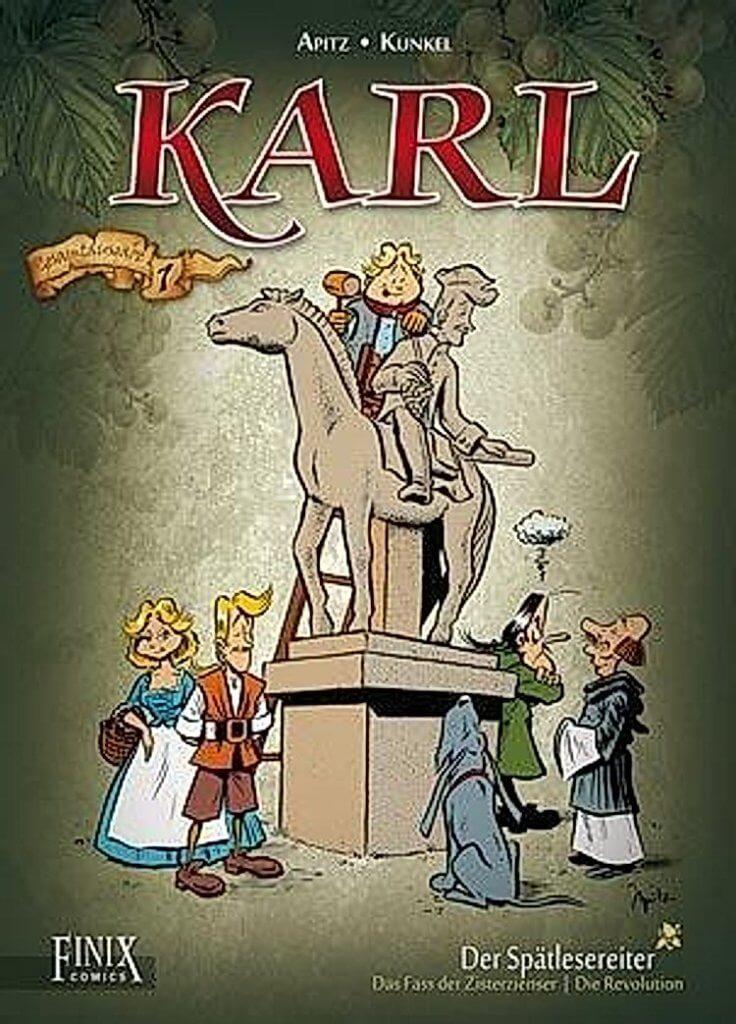 Cover of Karl Der Spätlesereiter (Finix Comics, 1988)