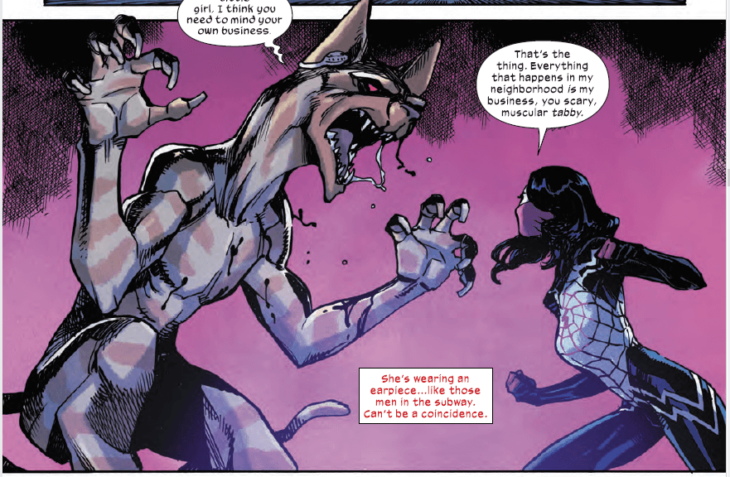Silk and The Demon Cat