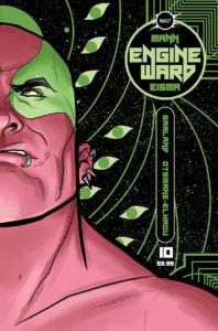 Cover of Engine Ward #10 (Vault Comics, May 2021)