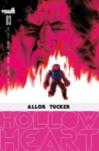 Cover of Hollow Heart #3 (Vault Comics, April 2021)