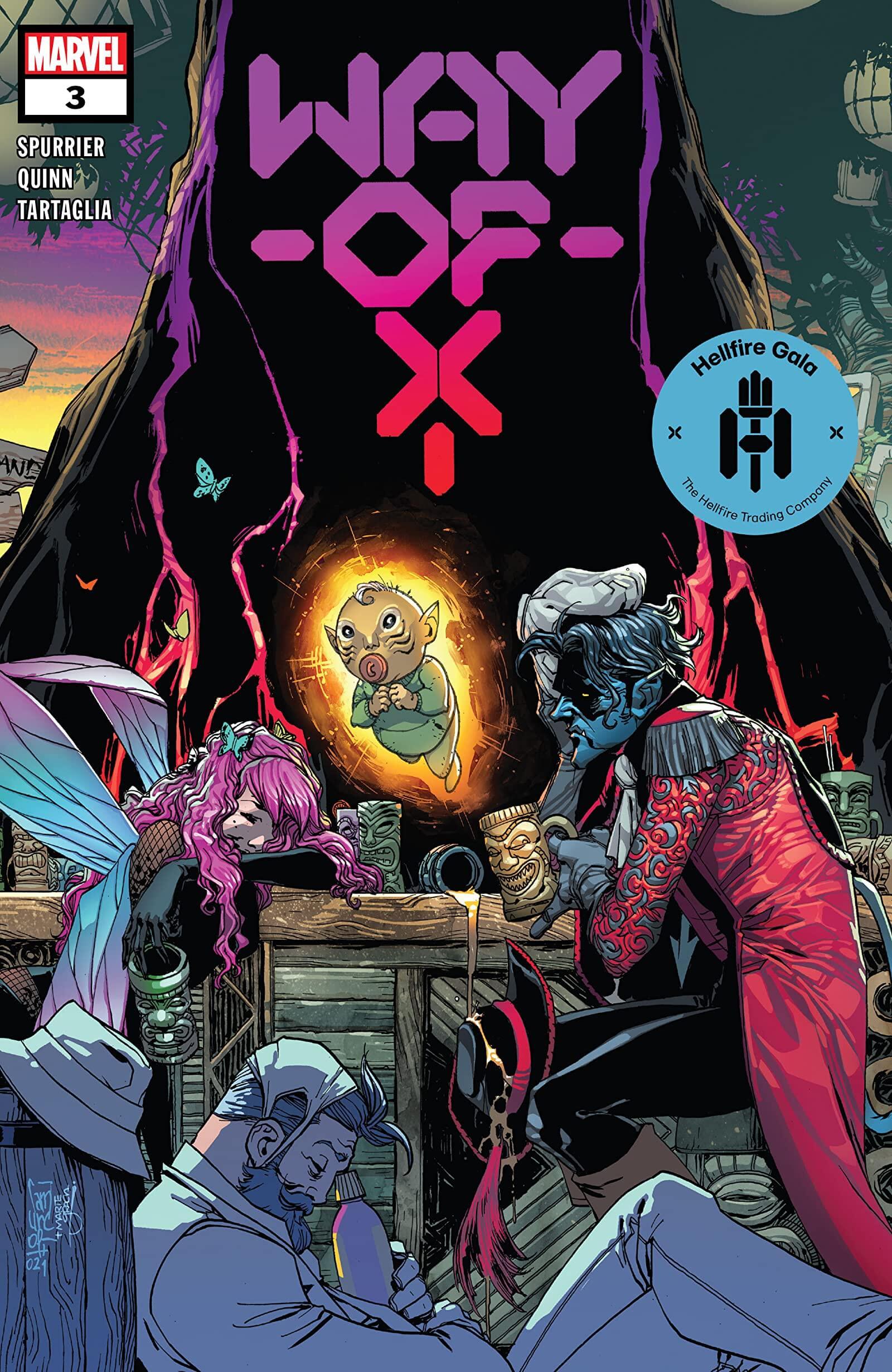 Way of X #3 - Camuncoli, Gracia - Marvel Comics June 23rd, 2021