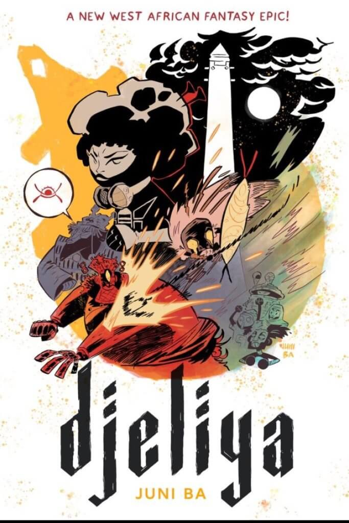 Cover of Djeliya Juni Ba (writer and artist) TKO Studios July 6, 2021