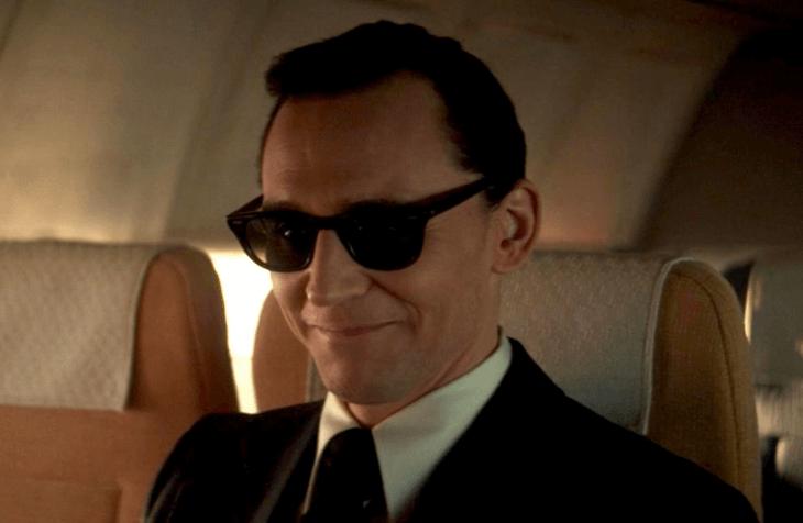 Loki as D.B. Cooper in 'Loki'.