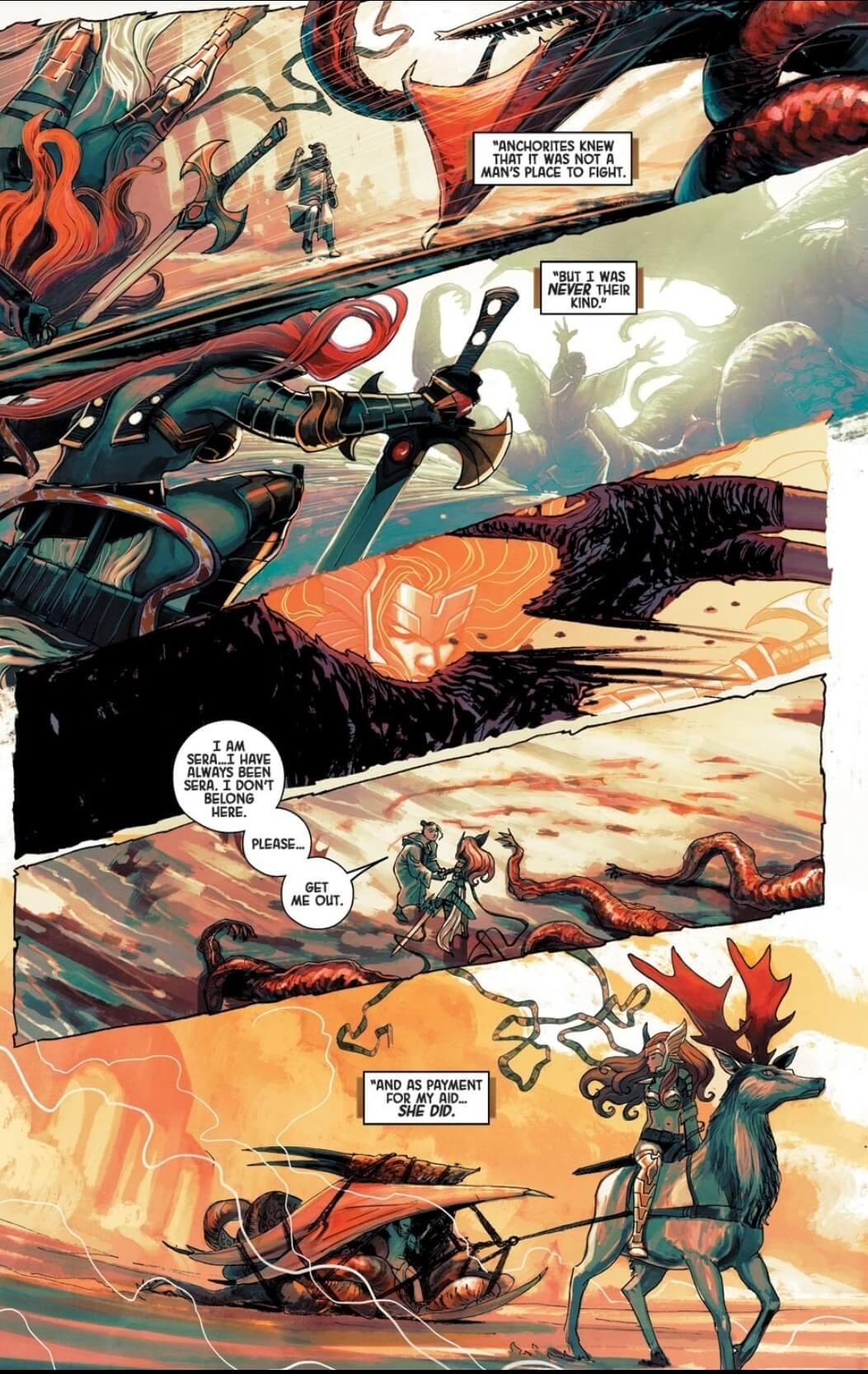 Angela: Asgard's Assassin #3 - Bennett, Gillen, Hans, Cowles - Marvel Comics, 2014