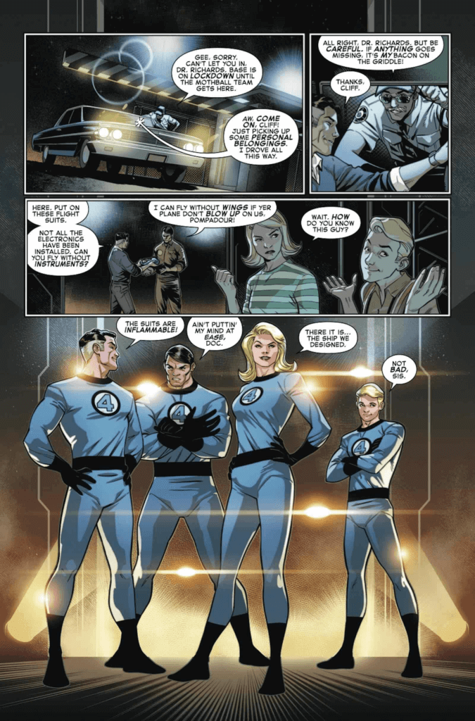 Panel Art for Fantastic Four: Life Story: The '60's. C May 2021 Marvel Comics
