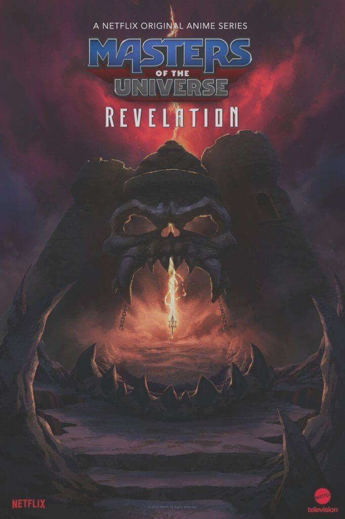 Cover image of Masters of the Universe: Revelation.