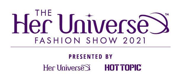 Her Universe Fashion Show logo 2021