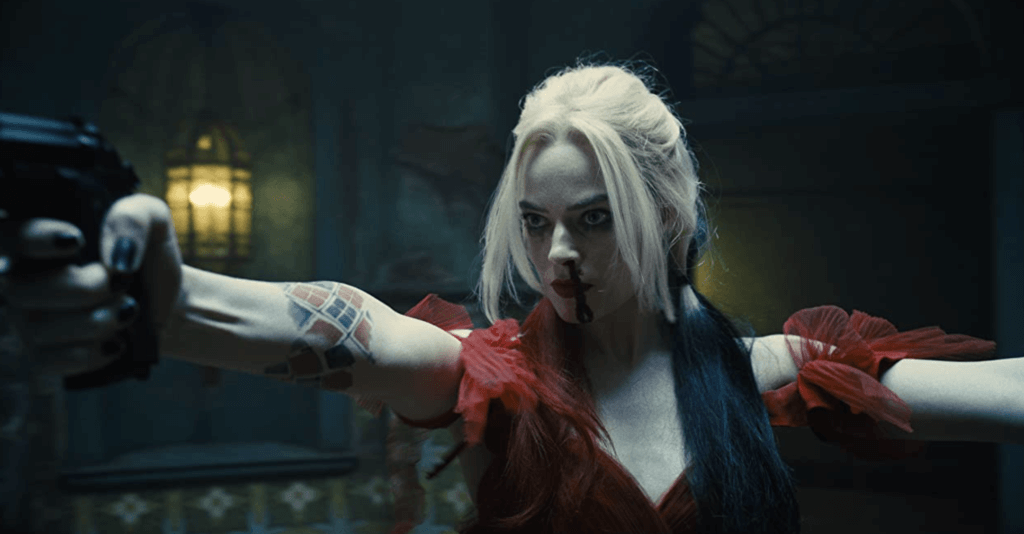 Harley Quinn in The Suicide Squad.