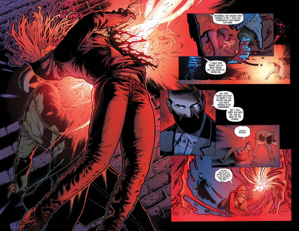Pages from Syphon #1 (Top Cow Productions, July 21, 2021)