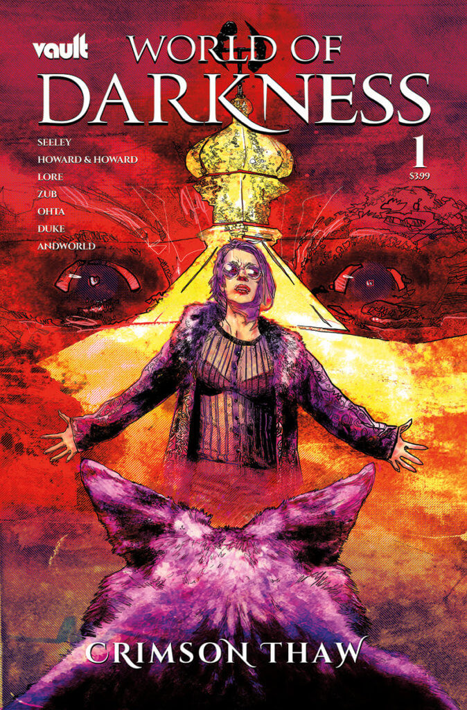 Cover of World of Darkness: Crimson Thaw #1