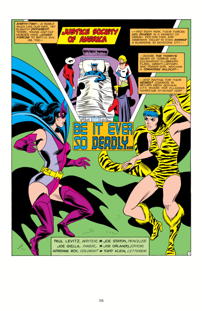 Pages from All-Star Comics (DC Comics, 1976)