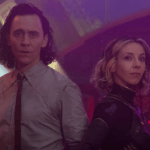 Loki and Syvlie stand together in Disney+'s 'Loki.'