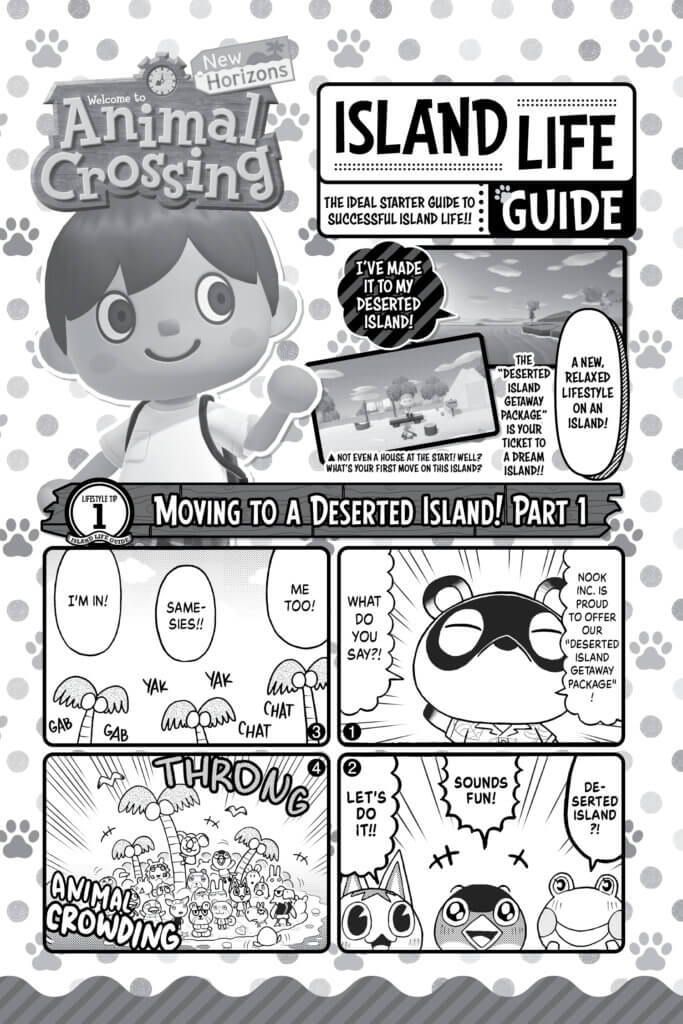 Pages from Animal Crossing New Horizons: Deserted Island Diary Volume 1