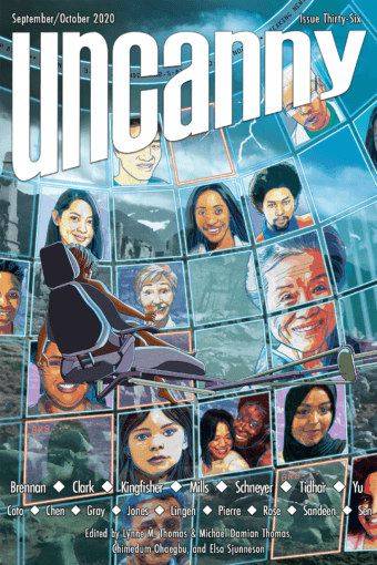 Cover of Uncanny Magazine issue 36