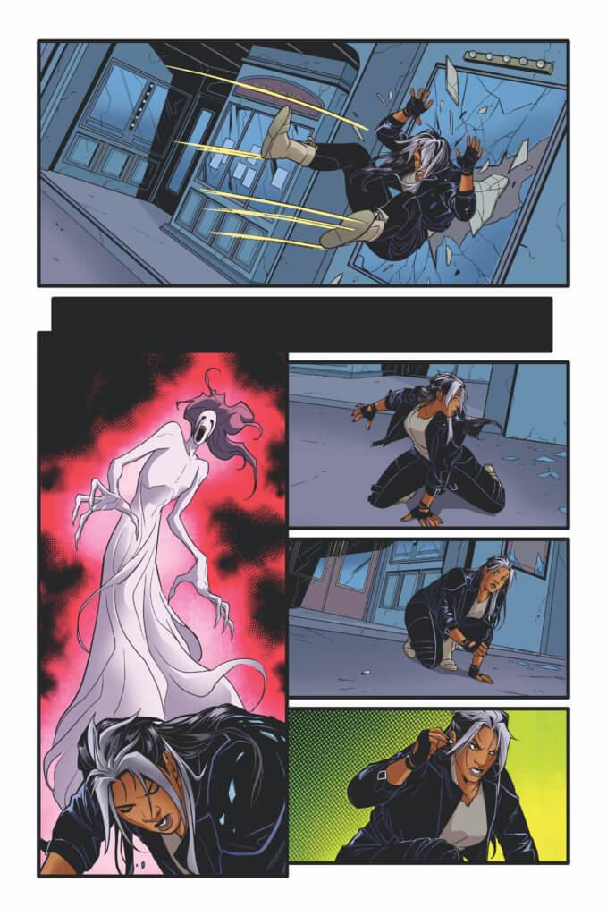 pages from Lunar Room #1 (Vault Comics, November 2021)