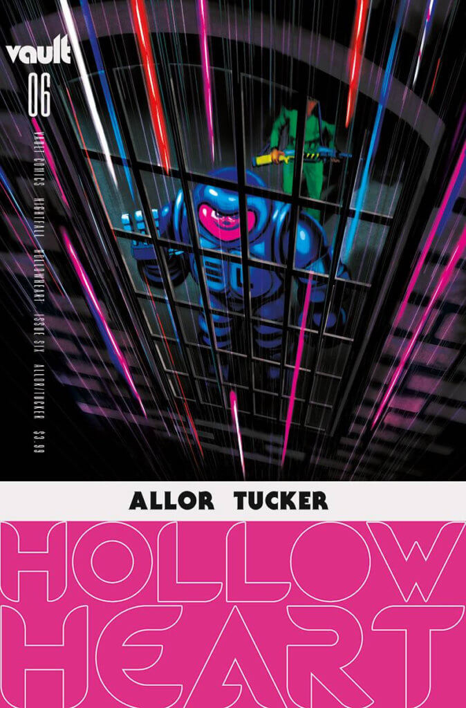 cover of Hollow Heart #6 (Vault Comics, August 2021)