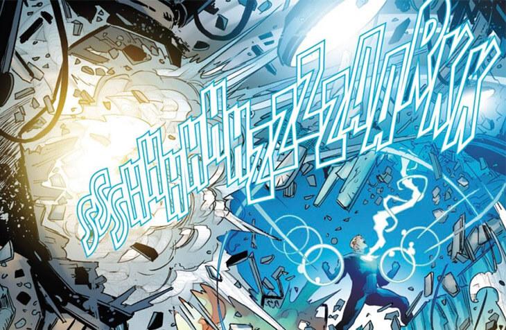 Havok unleashing a massive plasma blast